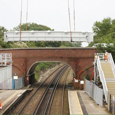 Charing Station Footbridge