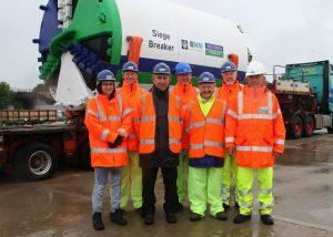 BNM Alliance - Newark tunnel launch - team shot 1 (1) small